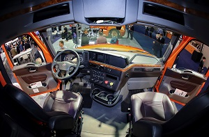International Truck LT Series Interior Thumbnail